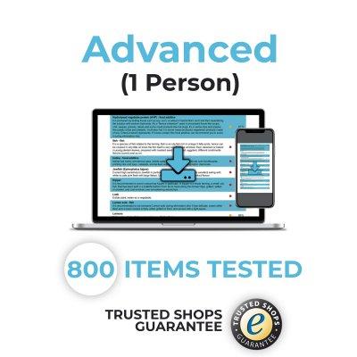 advanced 1 400x400 - Bioresonance Intolerance Tests