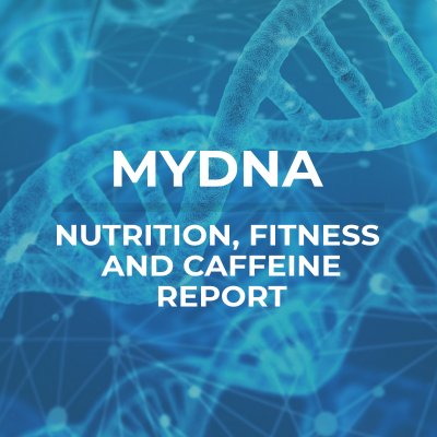 mydna blue 1 400x400 - My DNA Fitness, Nutrition and Caffeine