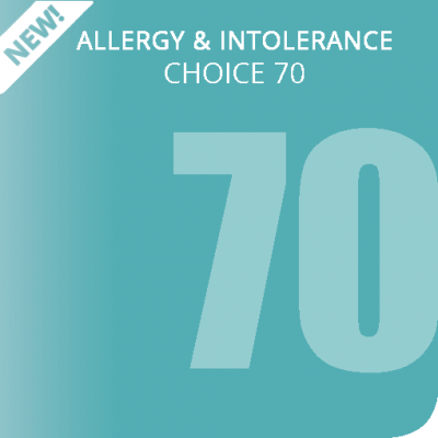 Choice 70 allergy & intolerance test