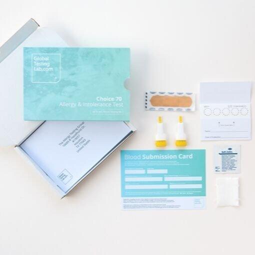 Choice 70 kit 510x510 - Choice 70 Allergy & Intolerance Test