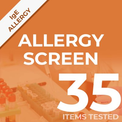 Allergy Screen Yes/No home test