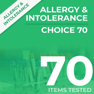choice70 1 400x400 - Choice 70 Allergy & Intolerance Test
