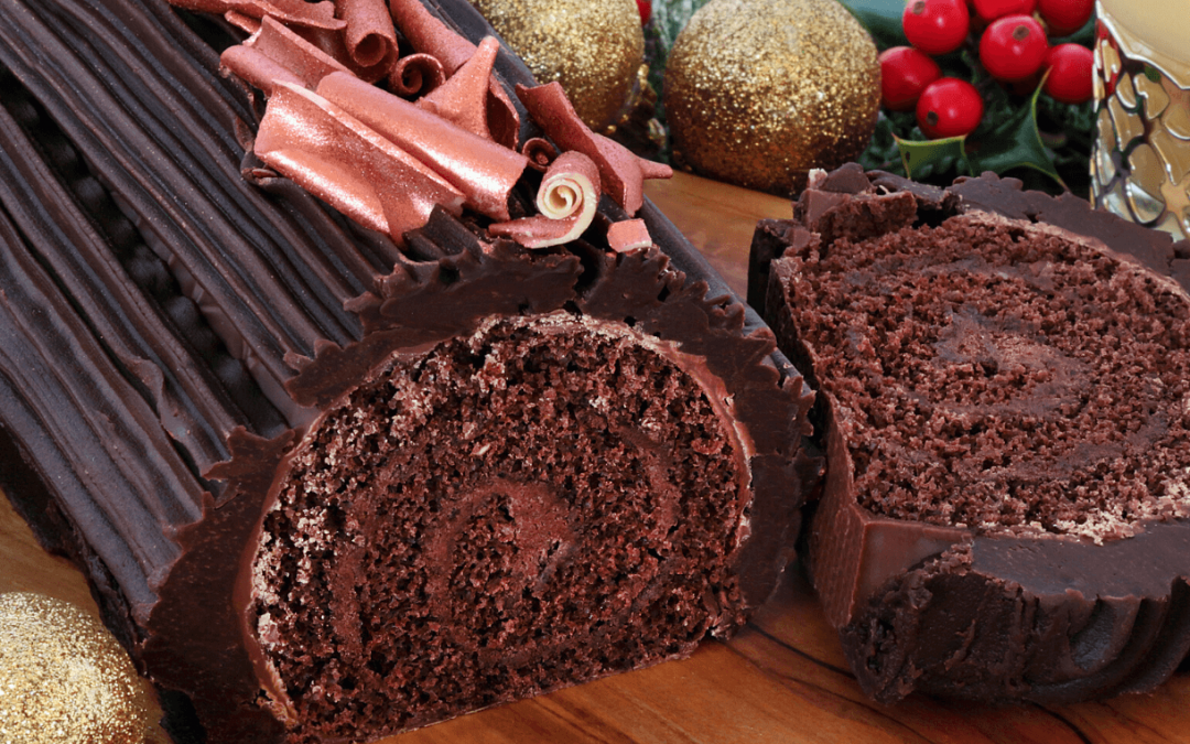 Yule Log Recipe – Gluten-free & Dairy-free