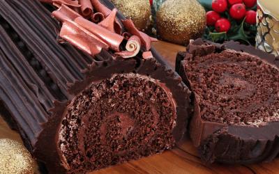 Yule Log Recipe – Gluten-free & Dairy-free