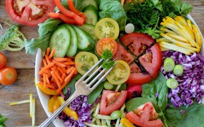Perfectly Balanced Vegetarian Salad