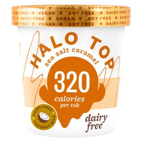 halo top dairy-free ice cream tub