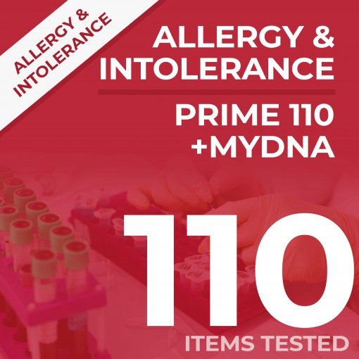 prime110 dna 1 510x510 - Prime 110 Allergy and Intolerance + DNA Test