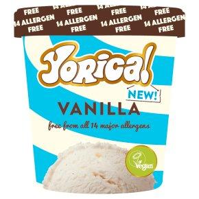 yorica vanilla dairy-free allergen-free ice cream