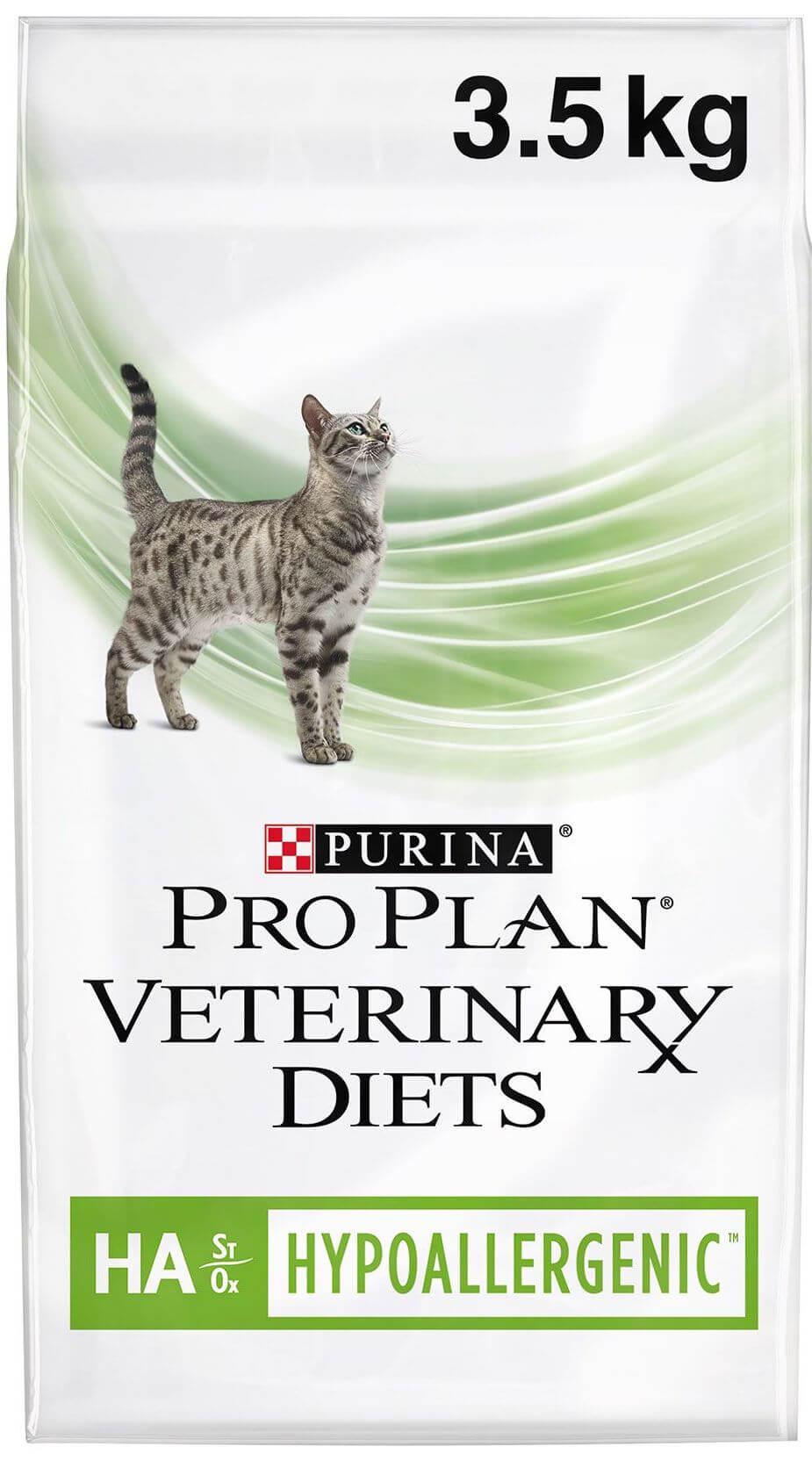 PRO PLAN VETERINARY DIETS Feline HA Hypoallergenic Dry Cat Food 3.5kg - Home-Made Allergy-Friendly Pet Food