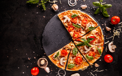 Pizza Margherita Recipe with a Carb-Boost