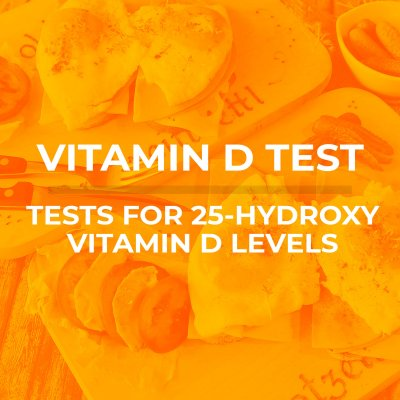 vit d cover photo 400x400 - Home Vitamin D Health Test