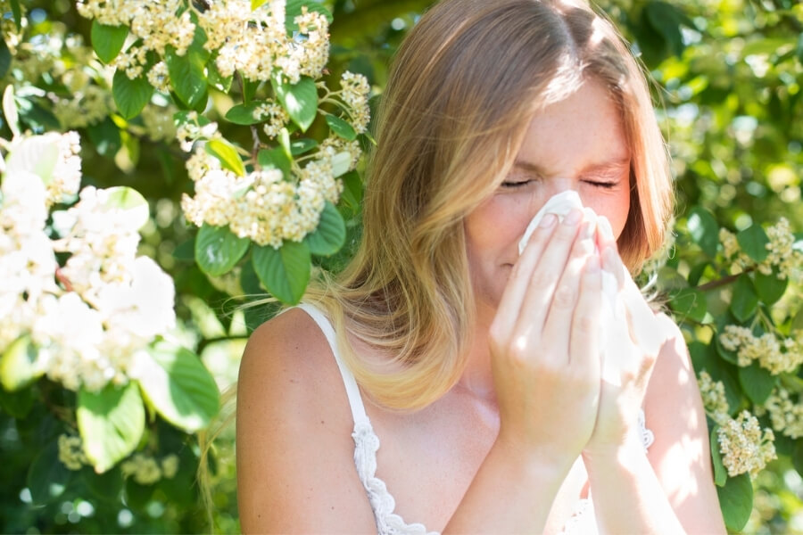 Hay fever or COVID?